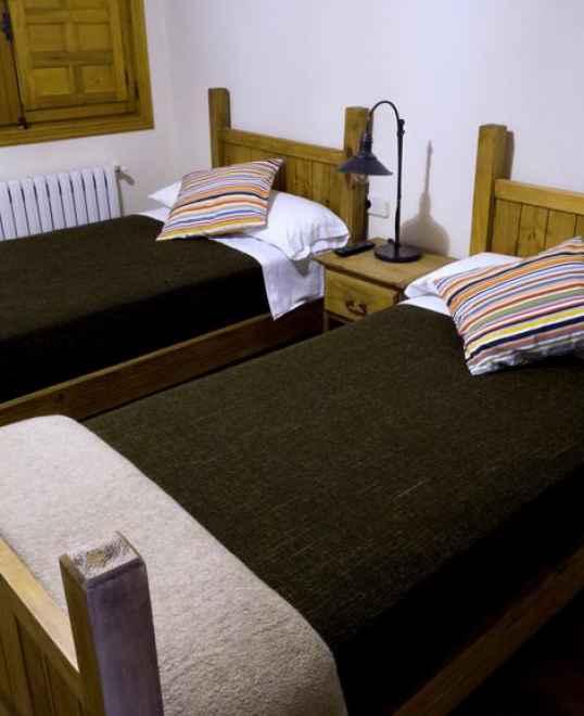 Habitaciones dobles dos camas